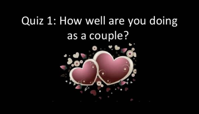 Free Quiz 1 for Couples