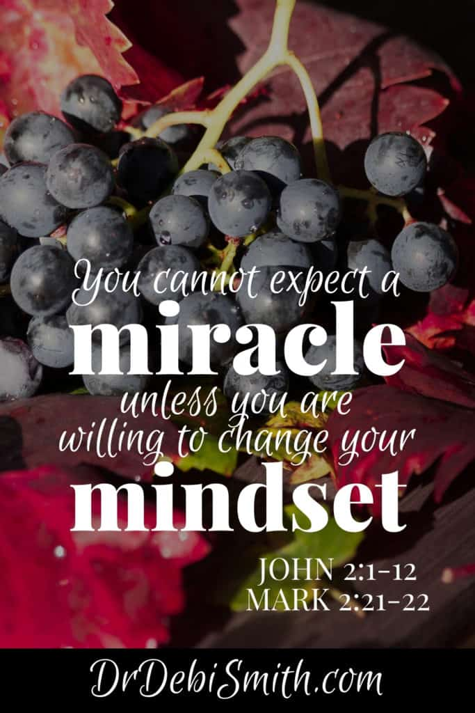 Miracles & mindsets go together