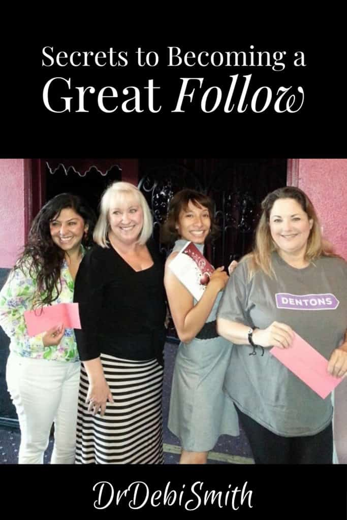 Secrets to Becoming a Great Follow