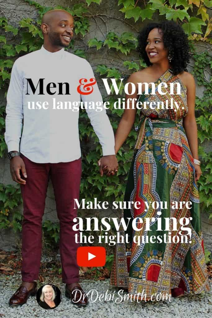 Couple Communication: Answering the right question